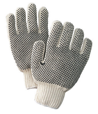 Radnor Ladies Medium Rusti Paw Vinyl Impregnated Coated Work Gloves