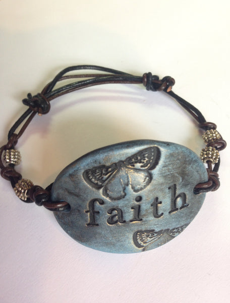 FAITH - Blue Bracelet