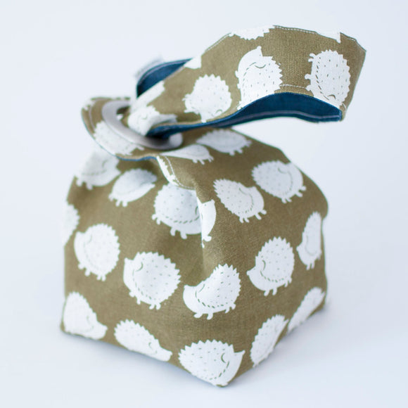 Hedgehogs Dumpling Bag - SMALL