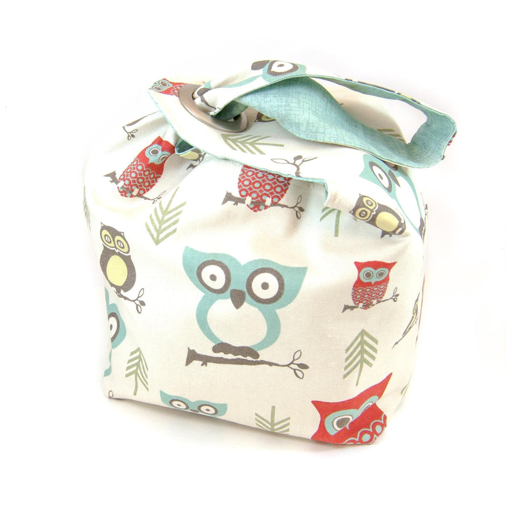 Hooty Red Dumpling Bag LARGE