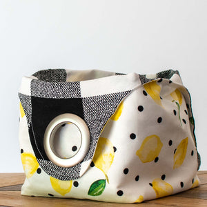 Lemonade Stand - Small Dumpling Bag