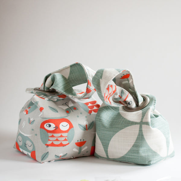 Owl Party - Baby Dumpling Bag