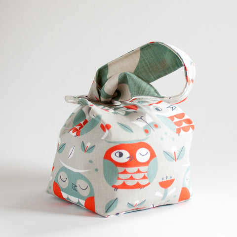 Owl Party - Small Dumpling Bag