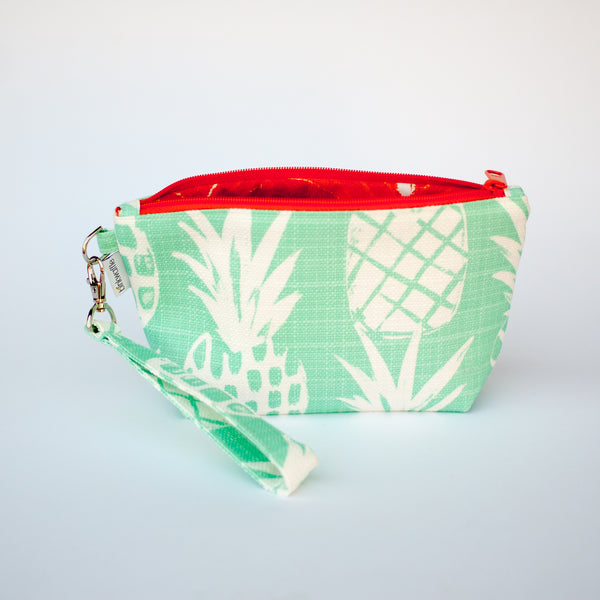 Pineapple Marmalade Zipper Wristlet