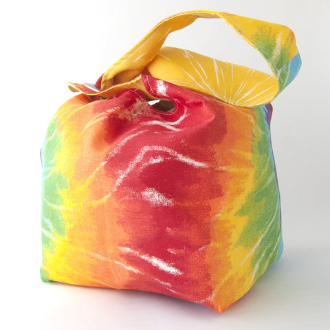 Tie Dye Dumpling Bag LARGE