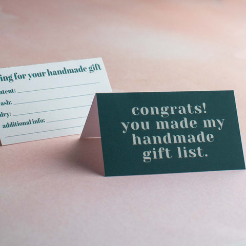 Mini Greeting Cards