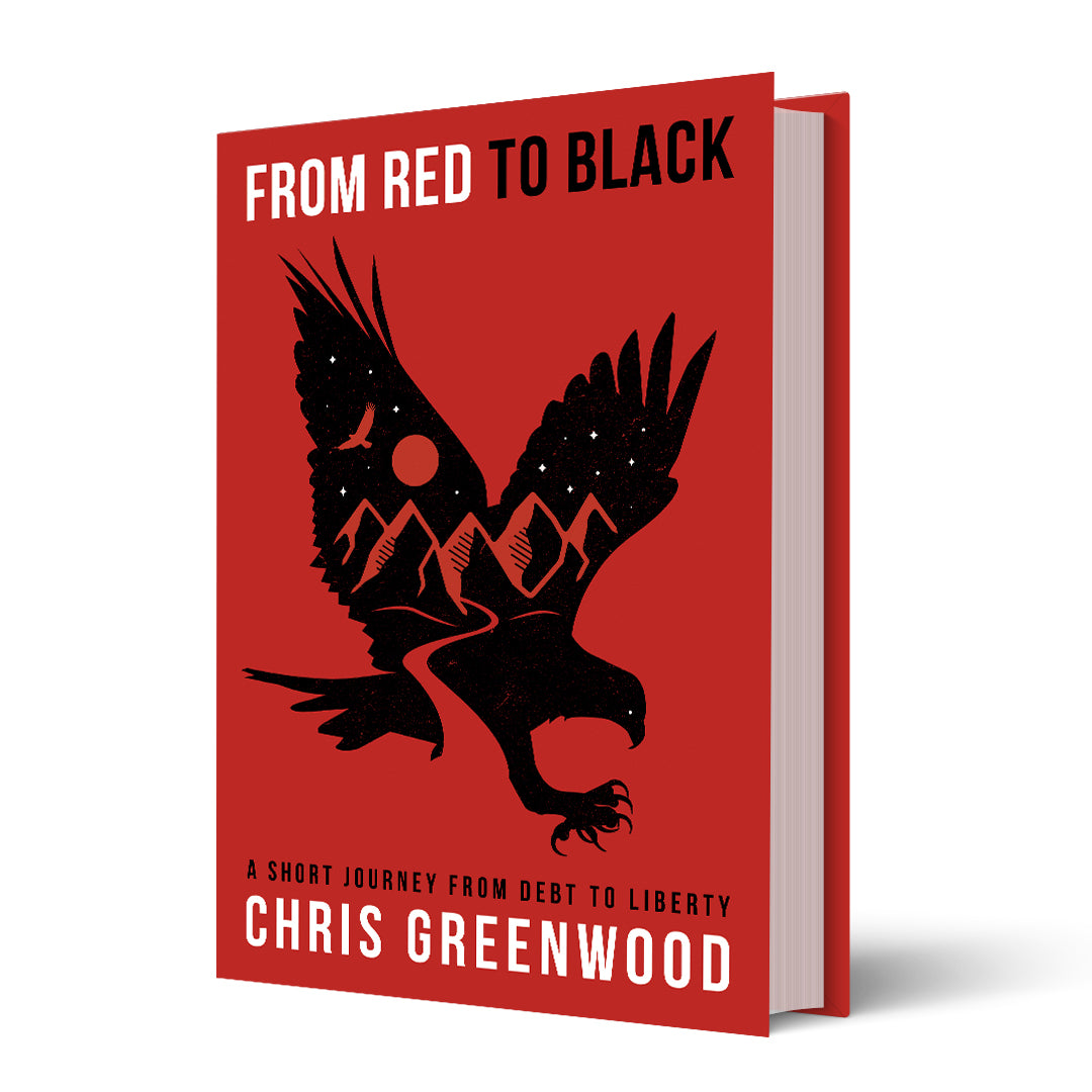 From Red To Black | Full Color Hard Cover Version