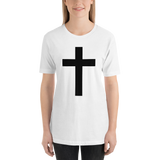 Cross White Shirt T-Shirt + Signed Poster
