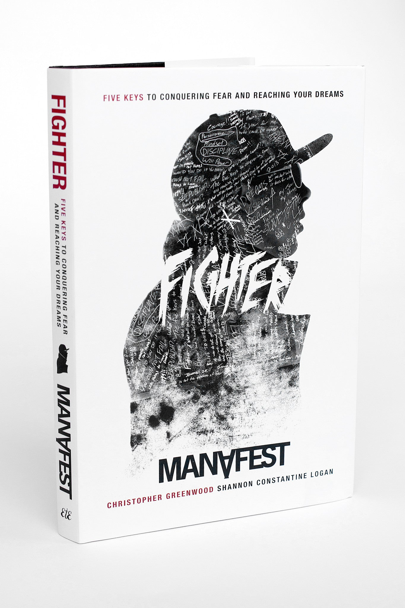 Signed Hard Cover Copy of Manafest Fighter Book