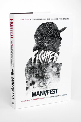 Manafest Fighter Hard Cover Book