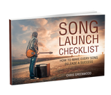 Song & Album Launch Checklist Ebook + Video Training