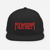 Fighter Red Snap Back