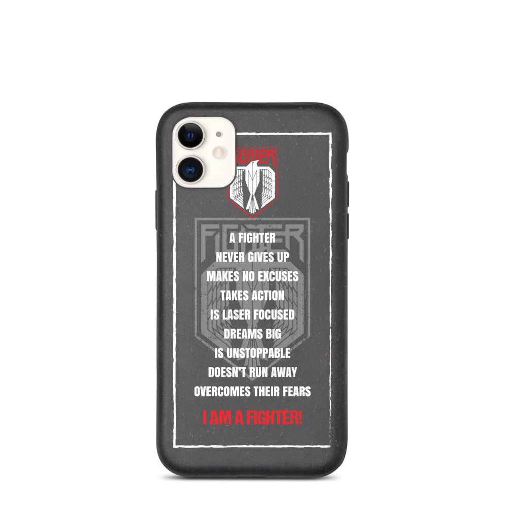 Fighter Manifesto phone case