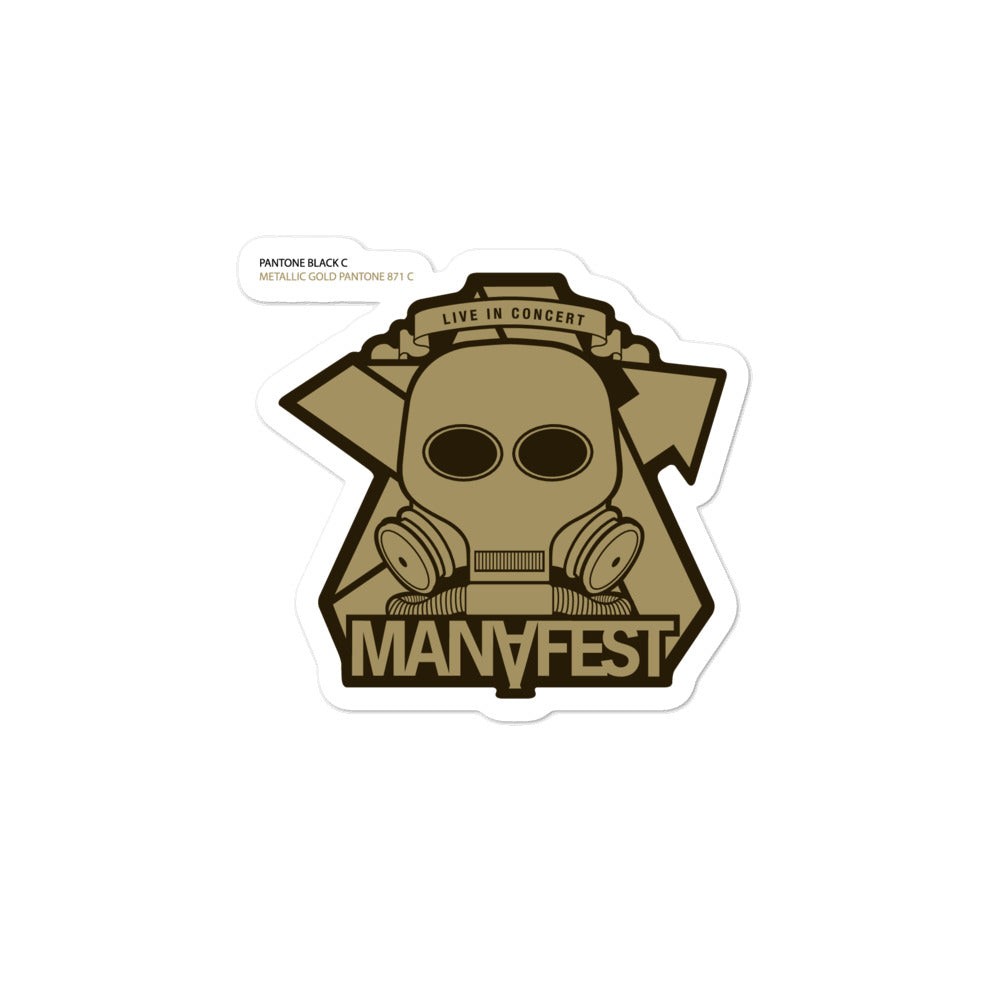 Manafest Mask Sticker