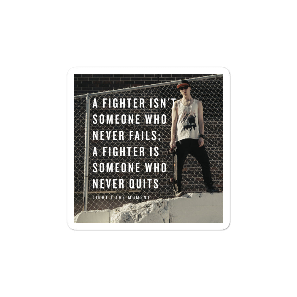 Fighter Sticker