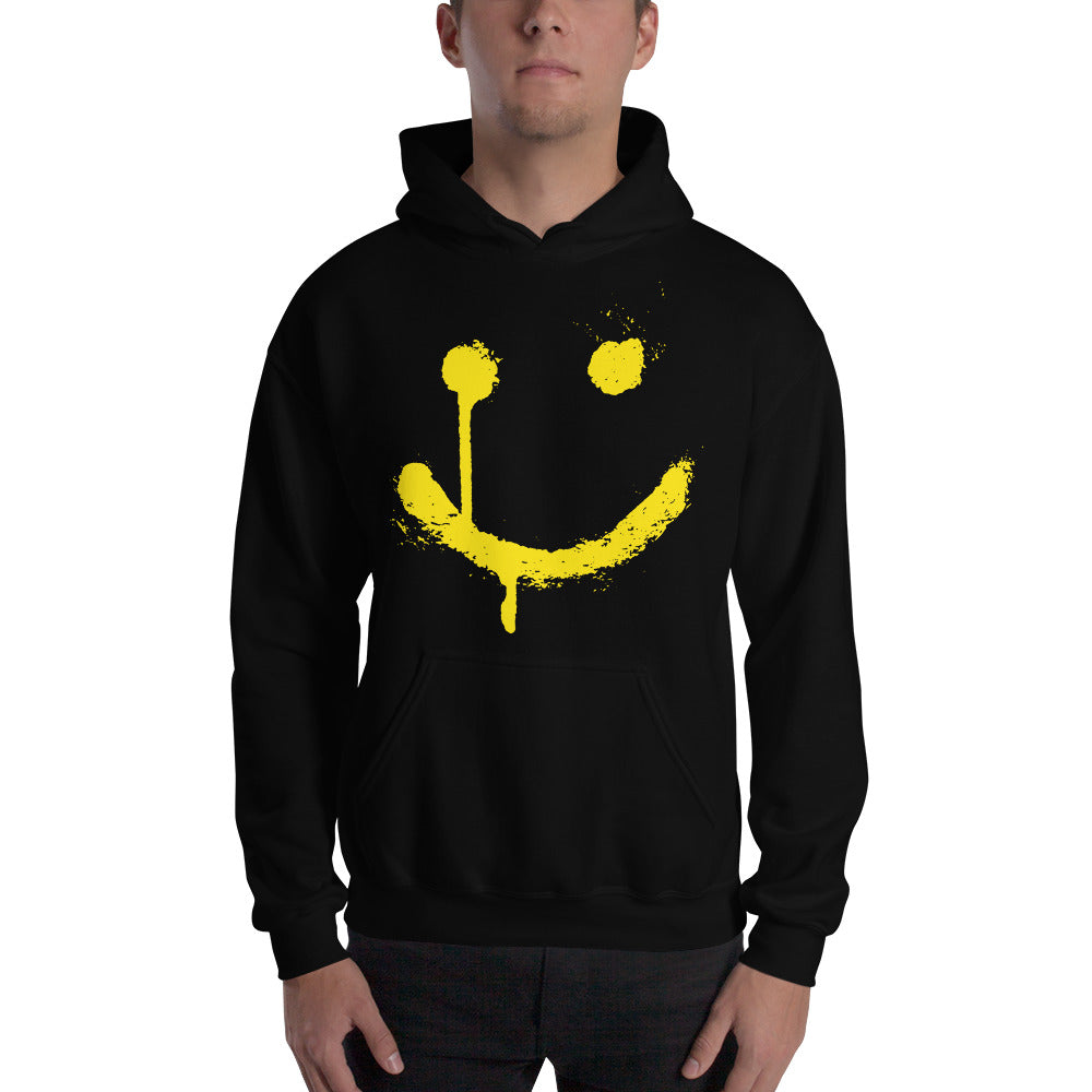 Stones Reloaded Smile Face Hooded Sweatshirt