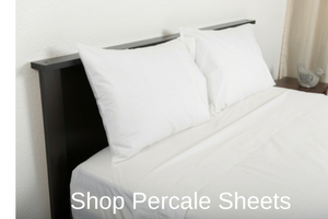Shop Percale Sheets - Excess Comfort Bedding - Oversized Bedding