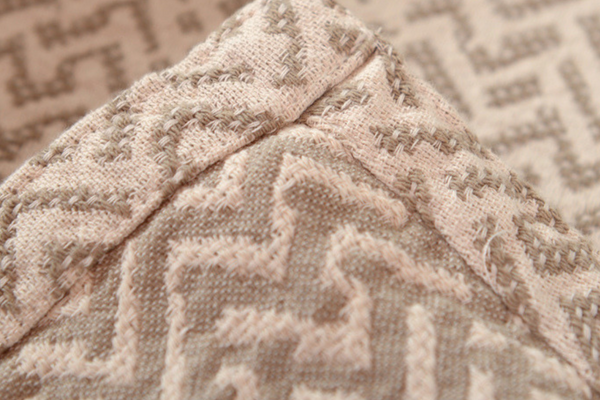 Netting Cotton Blanket - Linen/Ecru