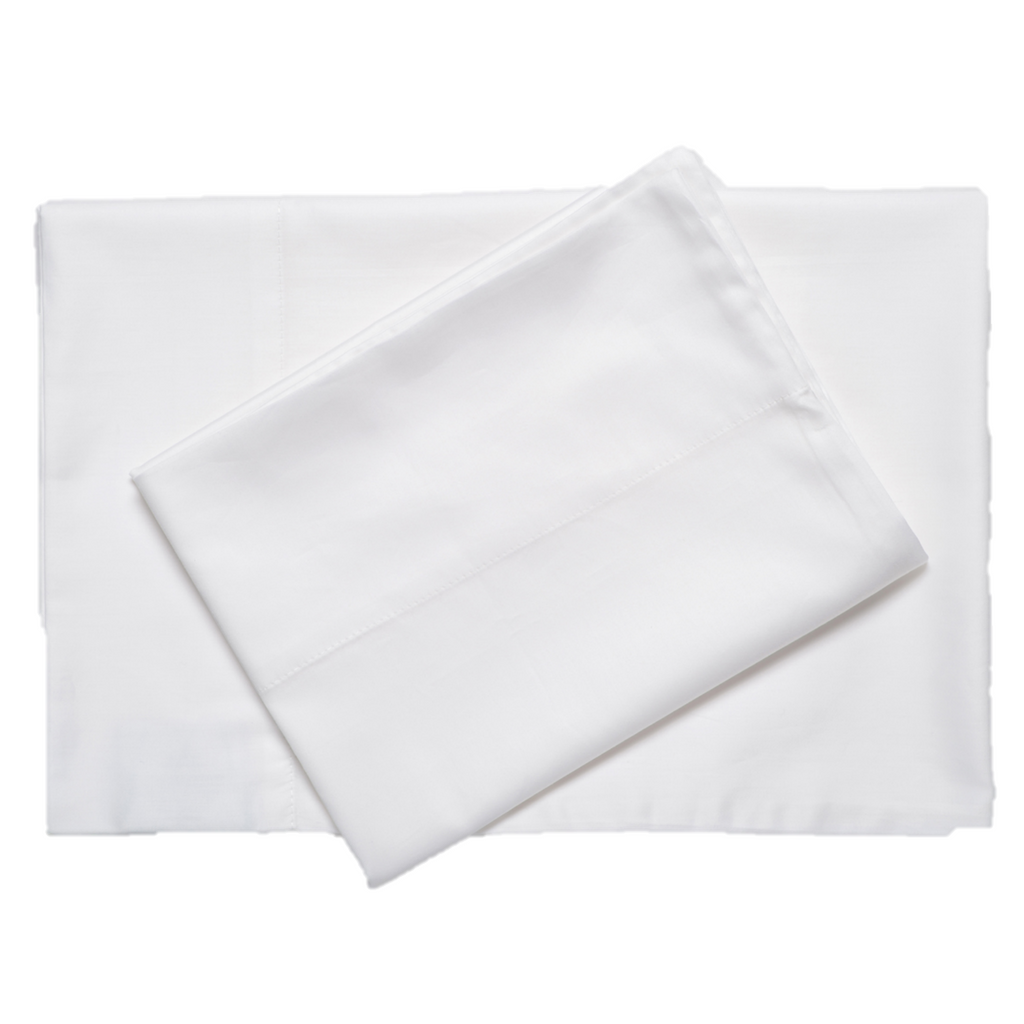 Oversized Sateen Sheet Set White 300 Tc Excess