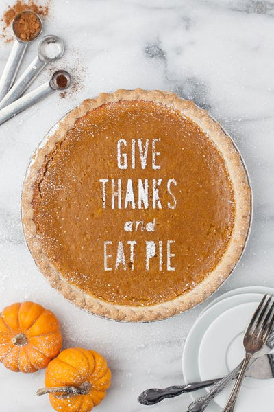 pie decorating ideas for Thanksgiving