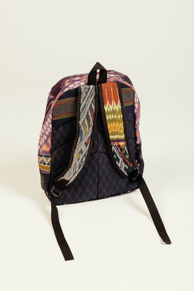 Wanderlust Up-Cycled Backpack