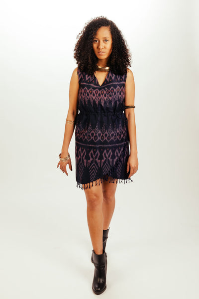 Yala Fringe Wrap Dress