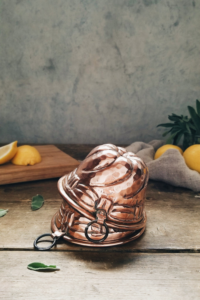 Vintage Copper French Moulds | c. 1880