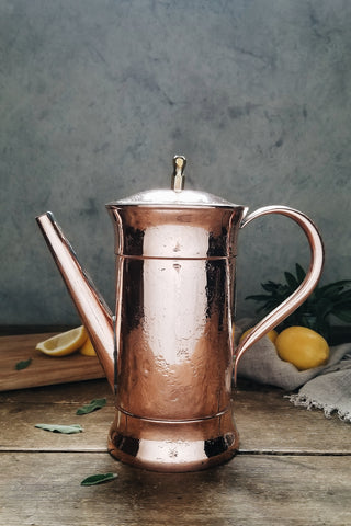 Vintage Copper French Coffee Pot | c. 1880