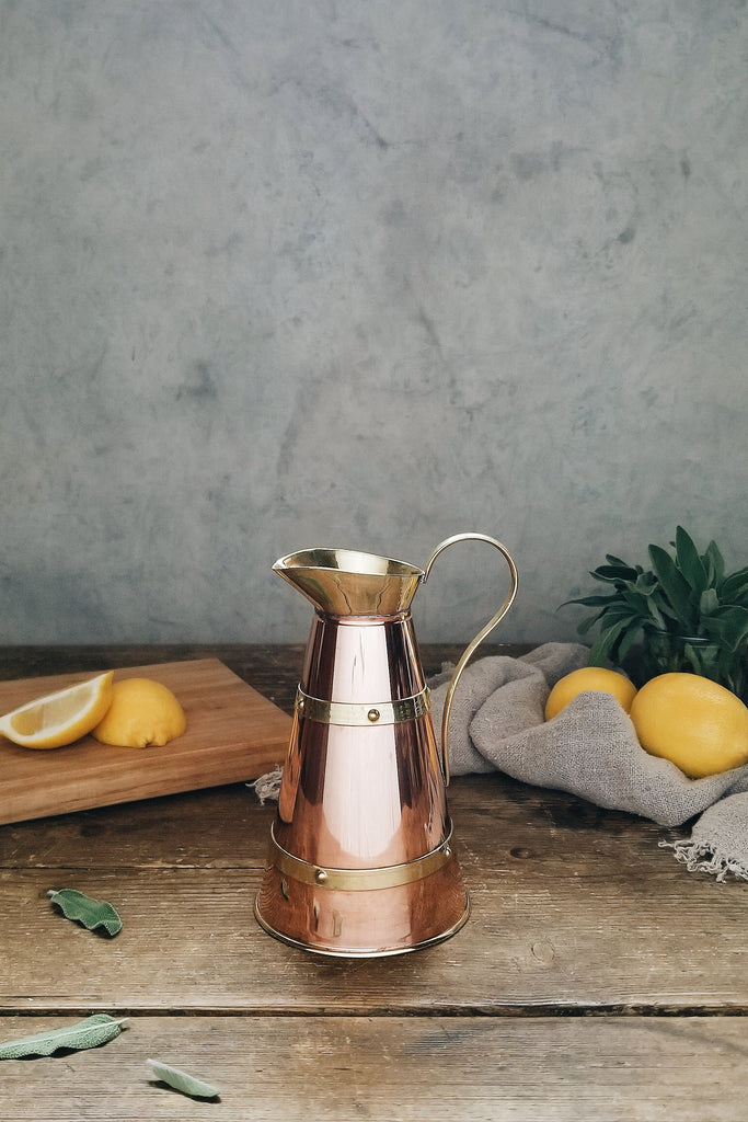 Vintage Copper English Creamer | c. 1880