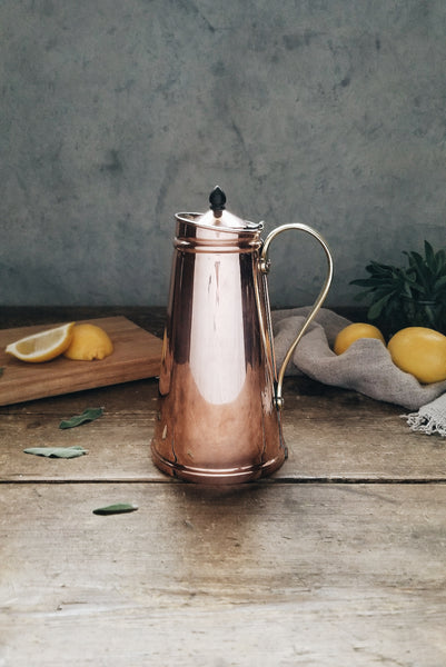 Vintage Copper Insulated Benson Jug | C. 1880