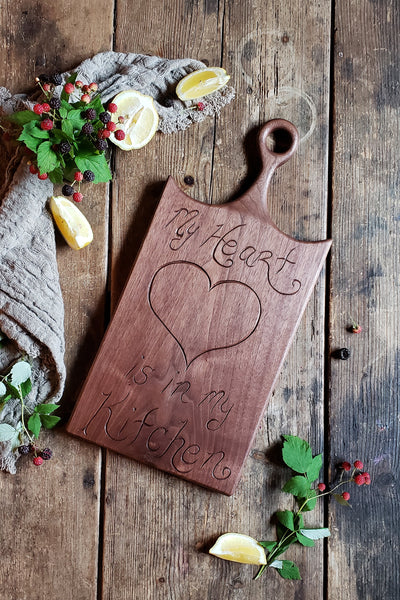 *NEW* My Heart Is My Kitchen Board