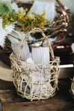 One-of-a-Kind Wildcrafted Small Basket