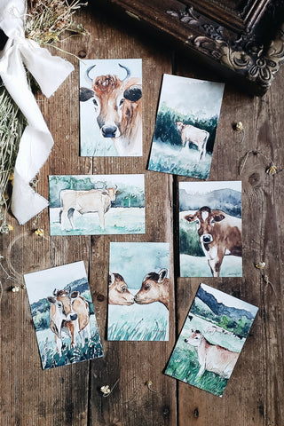 Jersey Herd Collection | Fine Art Print