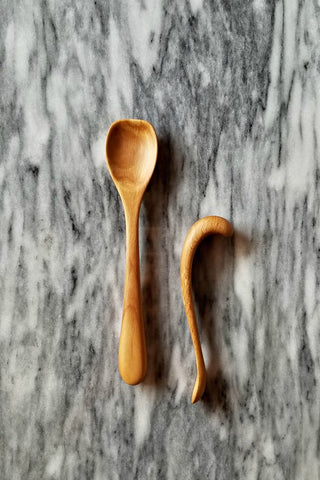 *NEW* Wooden Baby + Child's Spoons