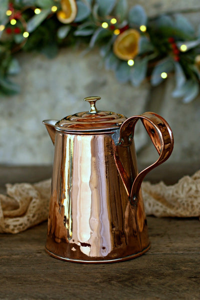 Vintage Copper English Pitcher | c. 1850