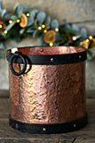 Large Vintage Copper and Iron Vessel | c. 1880