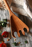 Large Handcrafted Wooden Pasta Spoon