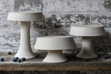 "Small 5"" Porcelain Ceramic Cake Pedestals"