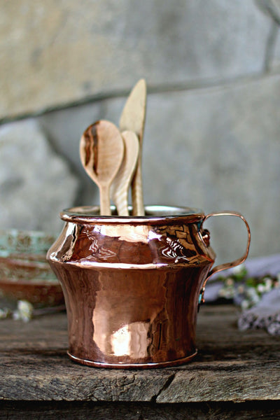 Vintage Copper Medium English Jug | c. 1850