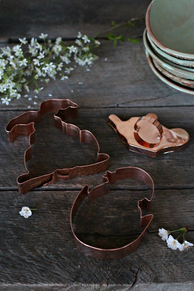 Vintage Copper Cookie Cutters