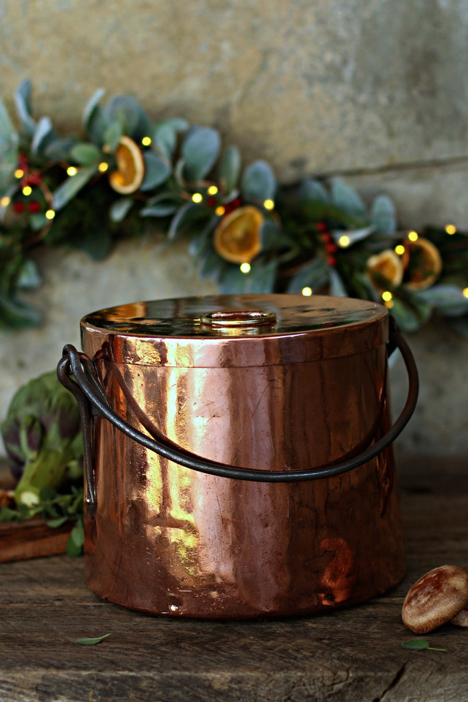 Large French Copper Marmite Stockpot | c. 1800