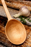 Simple Serving Spoon, Handmade Wooden Spoon
