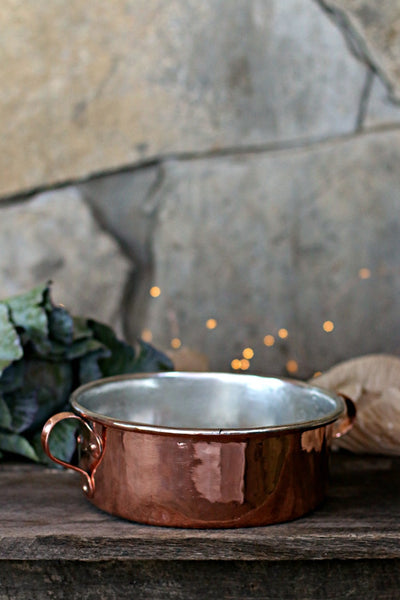 Vintage Copper Braising Pan | c. 1850