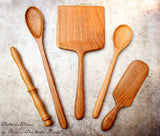 The Ultimate Baker's Package - Fine Wooden Kitchen Utensil Set