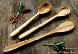 Fine Handcrafted Spoon Set in Maple