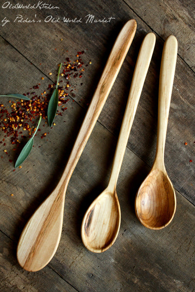 Basic Wooden Kitchen Utensil Set