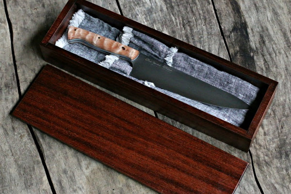 Handcrafted Artisan Chef S Knife In Presentation Case