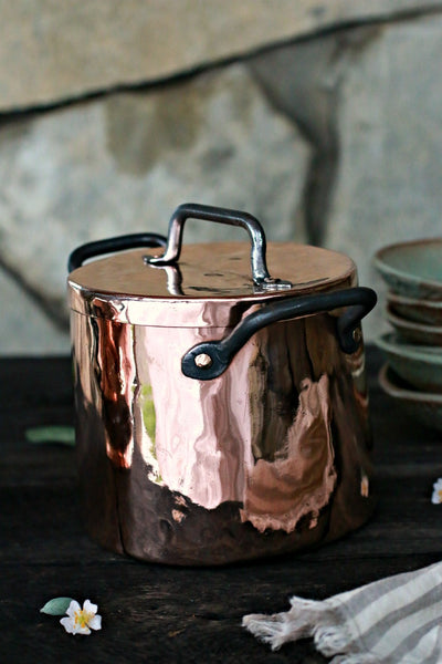Vintage Copper French Stockpot | c. 1880