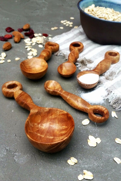 Original Wood Measuring Spoons