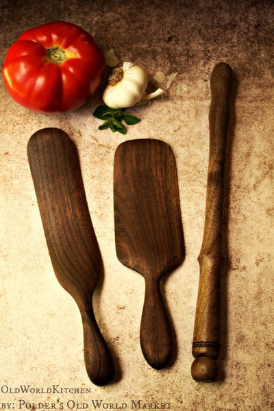 Scottish Spurtle Collection Set Of Three Old World Kitchen